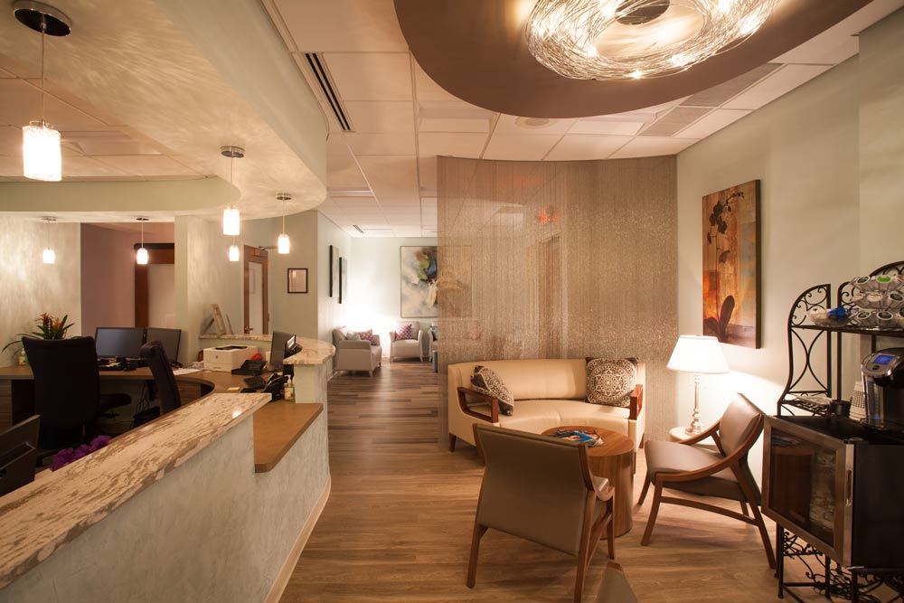 Oasis Med Spa interior